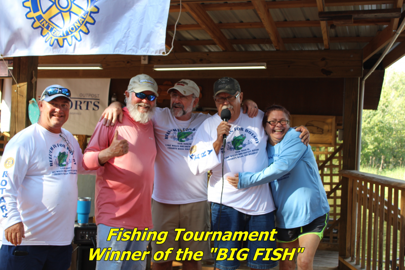 Winner Biggest Fish